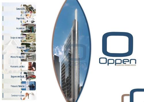 apartamento à venda, com garagem, 37 m² por r$ 160.000 - centro - campinas/sp - ap0751