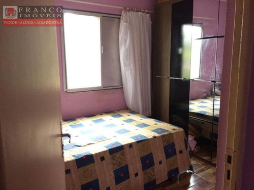 apartamento à venda, condomínio alvorada i, valinhos. - ap0058