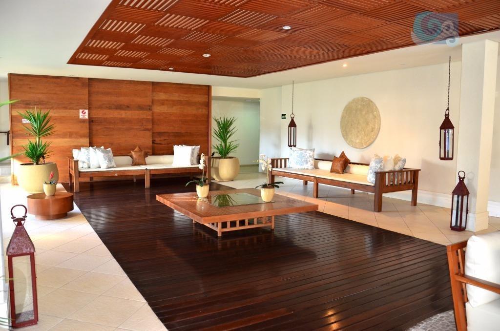 apartamento à venda - condomínio pantai - praia da enseada - guarujá - ap4626