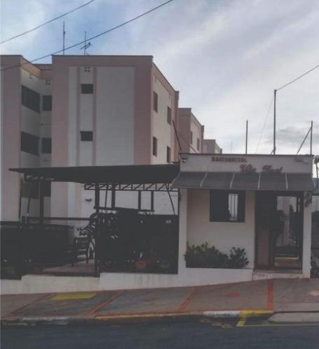 apartamento à venda, edifício vila real, nova américa, piracicaba. - ap0850