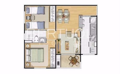 apartamento à venda em ortizes - ap007166