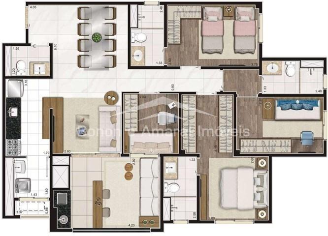 apartamento à venda em taquaral - ap006687
