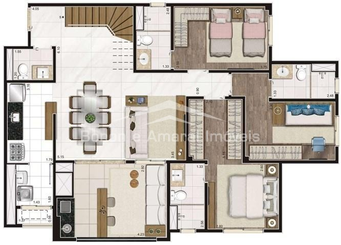 apartamento à venda em taquaral - ap006688