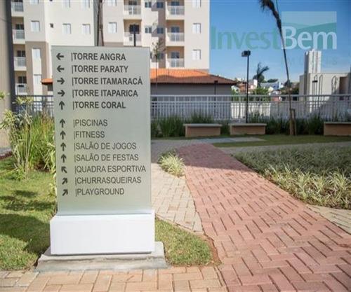 apartamento à venda em valinhos - condomínio brisa club house - ap0276