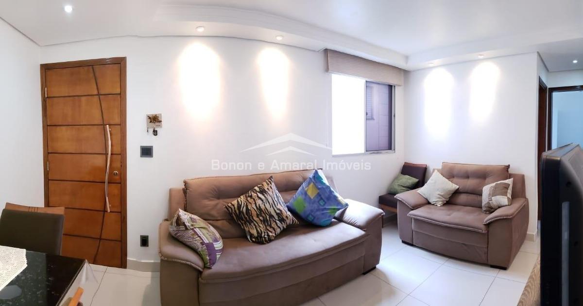 apartamento à venda em vila industrial - ap008454