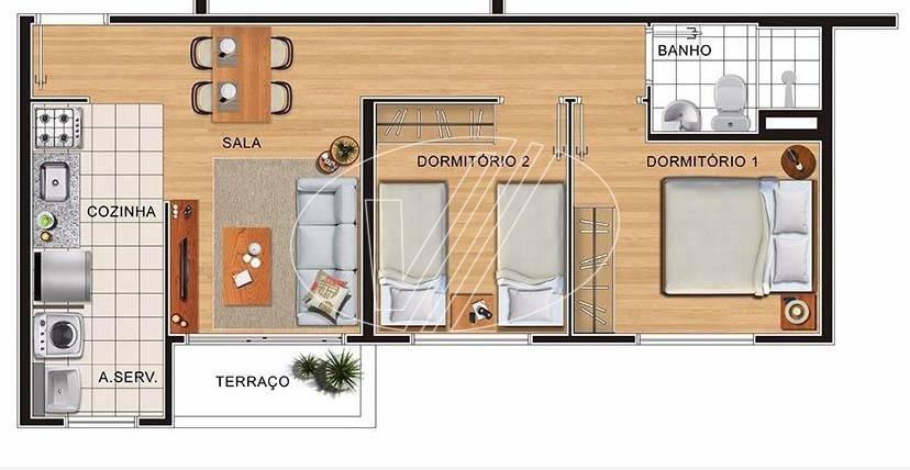 apartamento à venda em vila industrial - ap229339