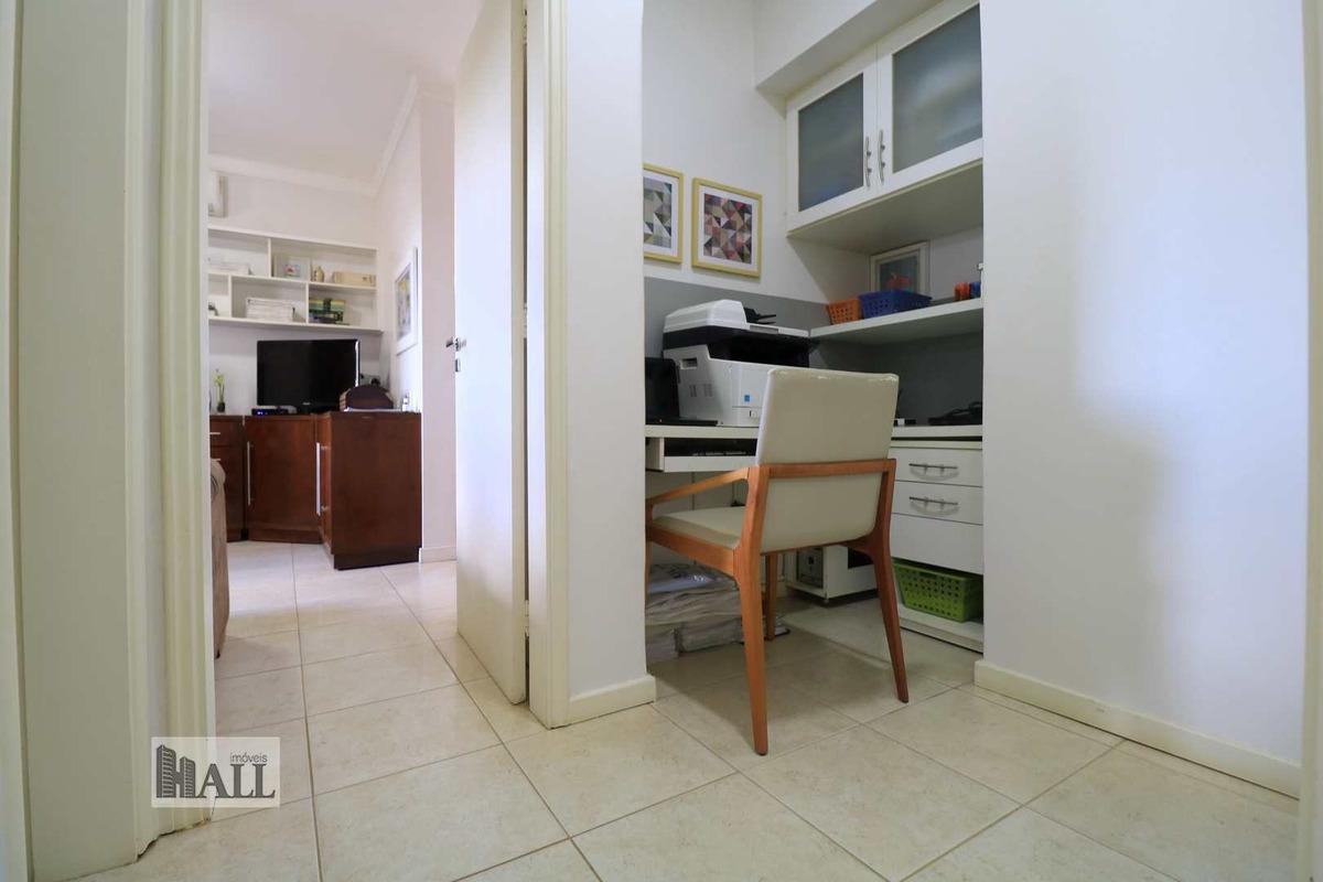 apartamento à venda jardim vivendas, 177m², 2vgs, rio preto - v6177