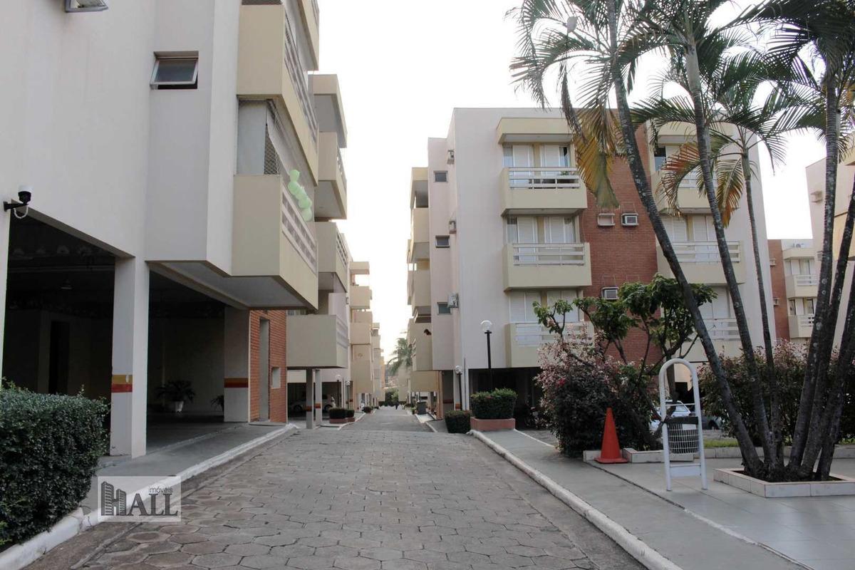 apartamento à venda jardim walkíria, 100m², 2vgs, - rio preto - v4713