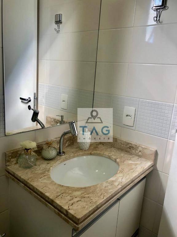 apartamento à venda - mansões santo antonio - ed. fatto mansões - ap0368