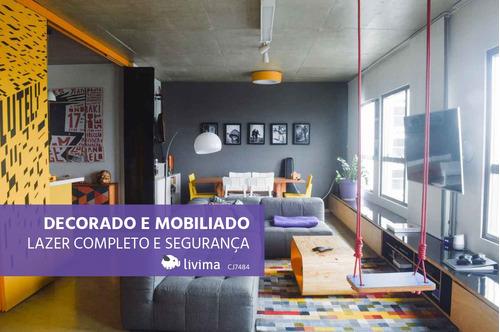 apartamento à venda na avenida mofarrej, vila leopoldina, são paulo - sp - liv-3695