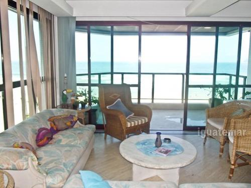 apartamento à venda na praia da pitangueiras frente ao mar - p1057mll