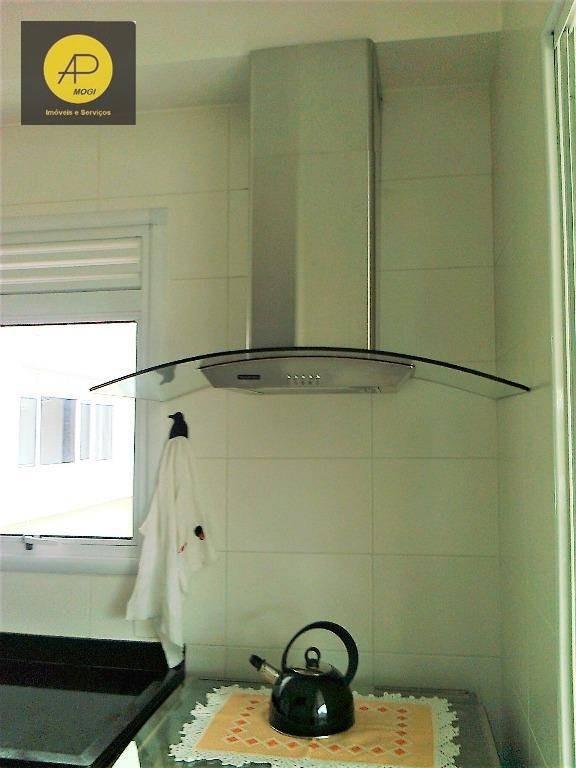 apartamento à venda na vila oliveira, mogi das cruzes. - ap0010