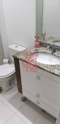 apartamento à venda no condomínio arcádia - centro de sbc. - 3265