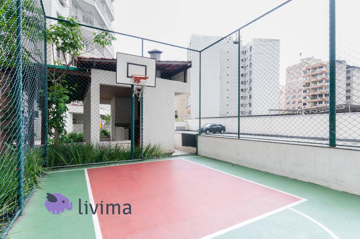 apartamento à venda no condomínio rossi mais maracanã, rio de janeiro - rj - liv-0957