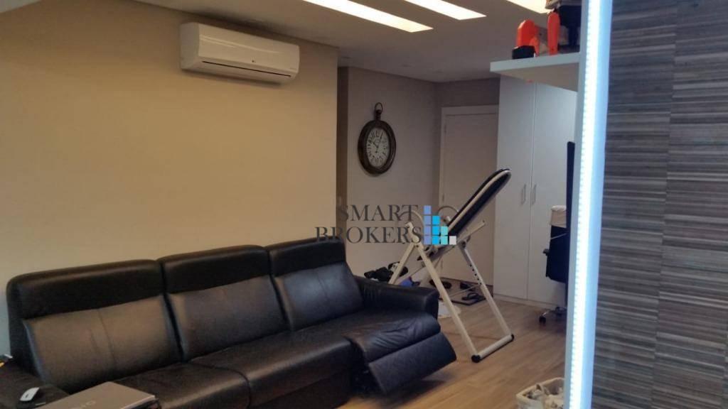 apartamento à venda no the gardens com 131 metros 3 suítes 2 vagas - ap0723
