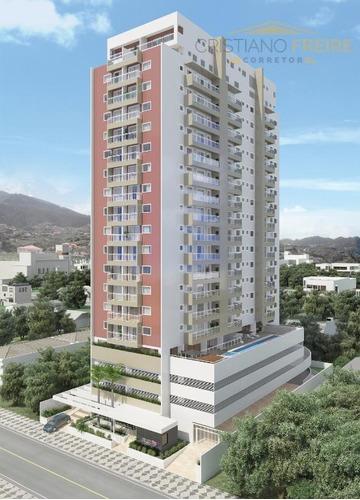 apartamento à venda, novo, 2 dormitórios, varanda gourmet, piscina, churrasqueira, financia, marapé, santos. - ap0116