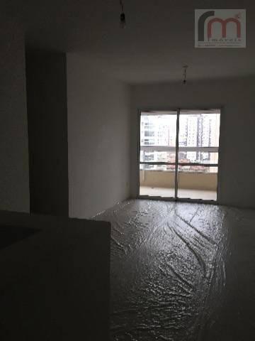 apartamento à venda, nunca habitado, como a construtora entregou, ponta da praia, santos. - codigo: ap1817 - ap1817
