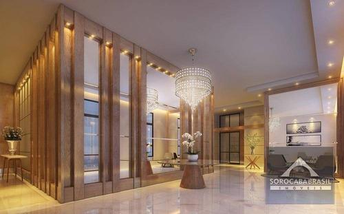 apartamento à venda, parque campolim, edifício dijon em sorocaba-sp, 4 suítes, 4 vagas de garagem, área útil 314,00 m². - ap0357
