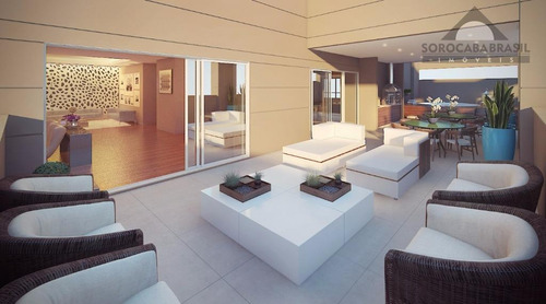 apartamento à venda, parque campolim, edifício dijon em sorocaba-sp, 4 suítes, 4 vagas de garagem, área útil 314,00 m². - ap0361