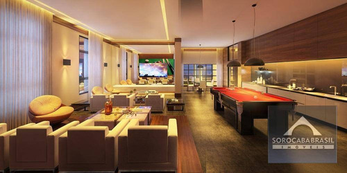 apartamento à venda, parque campolim, edifício dijon em sorocaba-sp, 4 suítes, 4 vagas de garagem, área útil 314,00 m². - ap0365