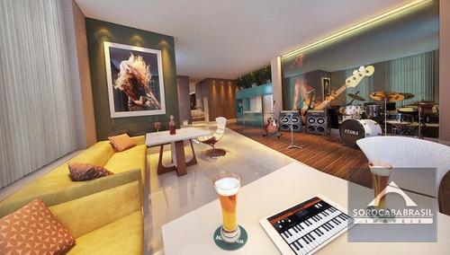 apartamento à venda, parque campolim, edifício dijon em sorocaba-sp, 4 suítes, 4 vagas de garagem, área útil 314,00 m². - ap0371