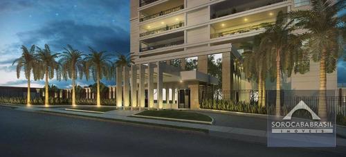 apartamento à venda, parque campolim, edifício dijon em sorocaba-sp, 4 suítes, 4 vagas de garagem, área útil 314,00 m². - ap0373