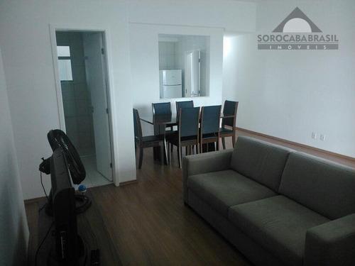 apartamento à venda, parque campolim, vitrine esplanada em sorocaba-sp, 2 dormitórios, 1 vaga de garagem, área útil 78,71 m². - ap0002