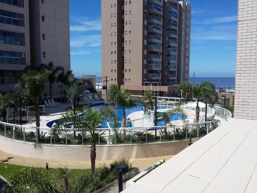 apartamento à venda pé na areia resort itanhaém. ref. 342.