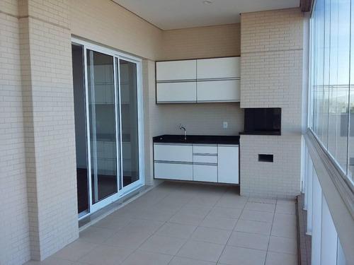 apartamento à venda pé na areia resort itanhaém. ref. 343
