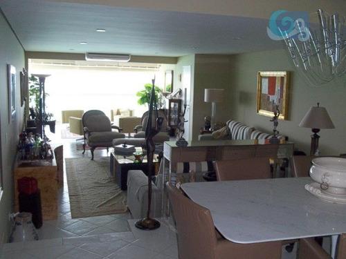 apartamento à venda, pitangueiras, guarujá. - ap4196