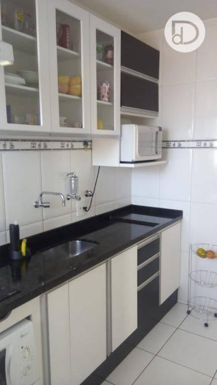 apartamento à venda por r$ 200.000 - jardim paulicéia - campinas/sp - ap1407