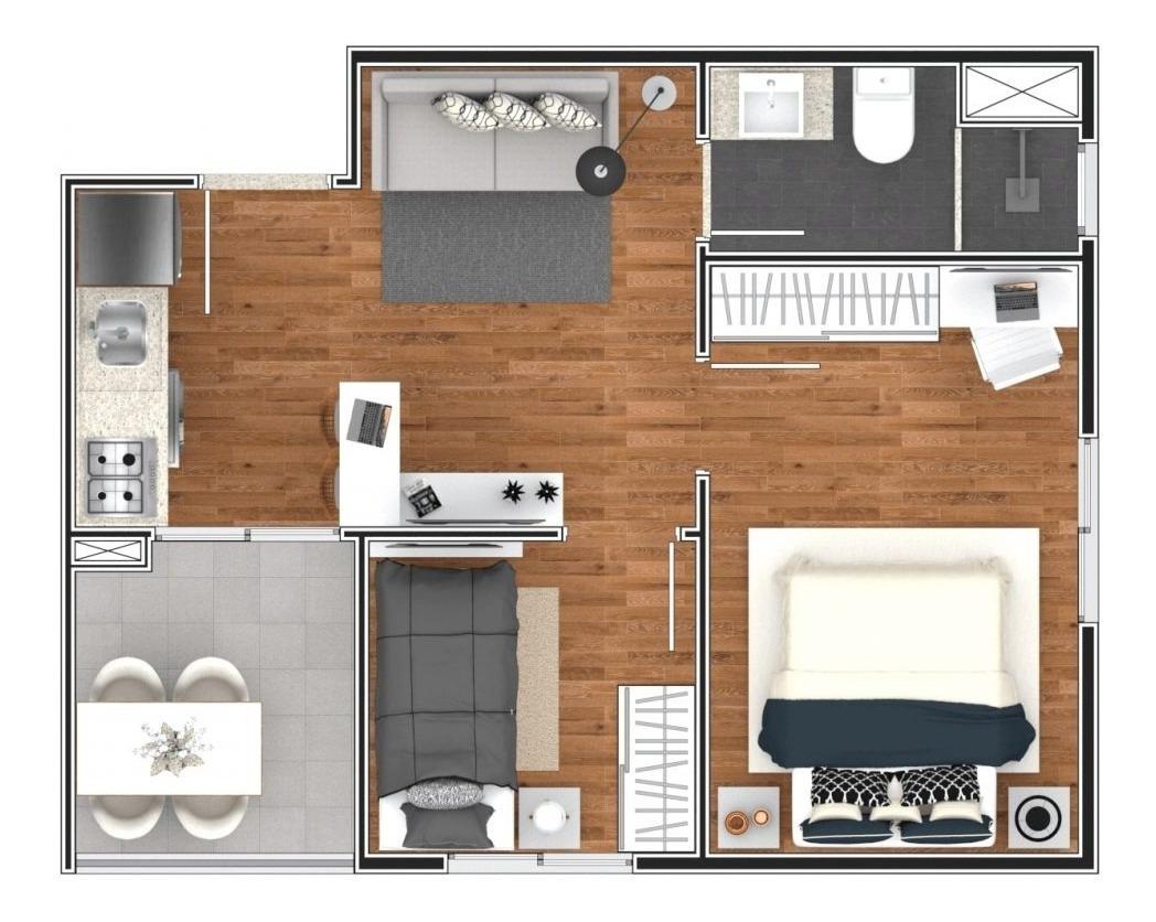apartamento à venda, vila esperança - são paulo/sp - 1833