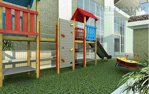 apartamentoà venda, vila guilhermina, praia grande. - codigo: ap0256 - ap0256