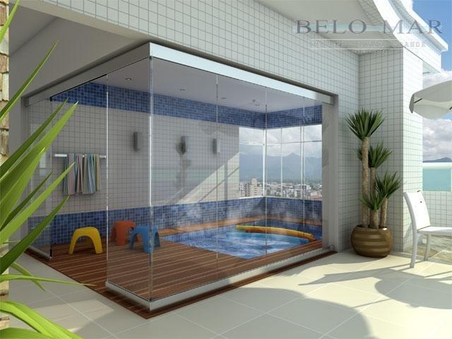 apartamento à venda, vila guilhermina, praia grande. - codigo: ap0266 - ap0266