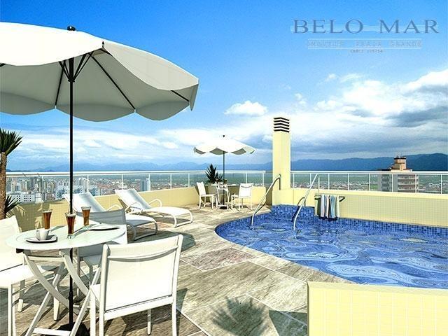 apartamento à venda, vila guilhermina, praia grande. - codigo: ap0364 - ap0364