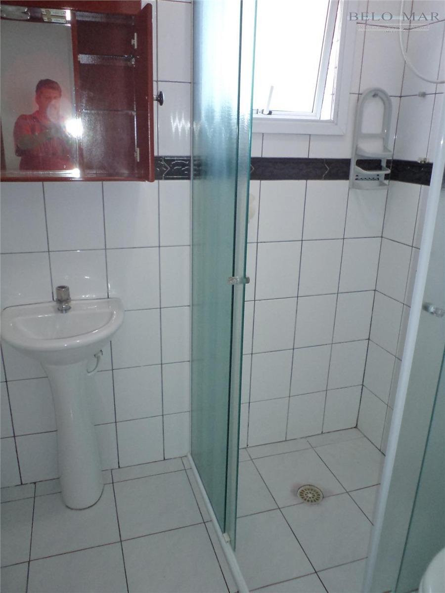 apartamento à venda, vila guilhermina, praia grande. - codigo: ap0375 - ap0375