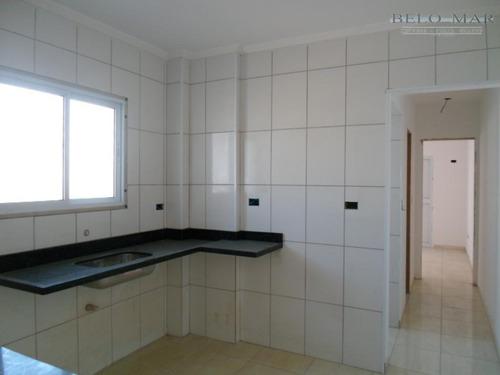 apartamento à venda, vila guilhermina, praia grande. - codigo: ap0446 - ap0446