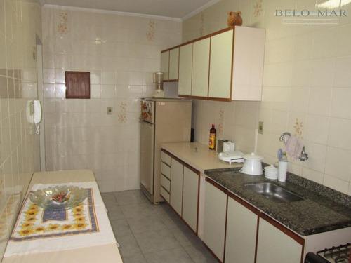 apartamento à venda, vila guilhermina, praia grande. - codigo: ap0463 - ap0463
