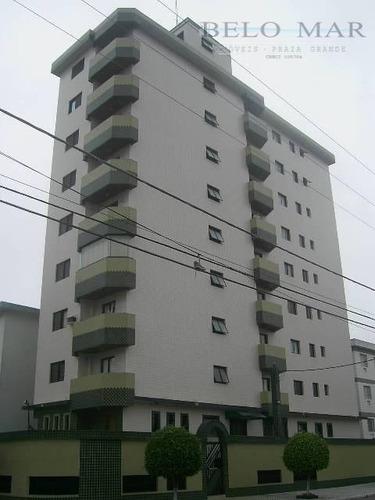 apartamento  à venda, vila guilhermina, praia grande. - codigo: ap0649 - ap0649