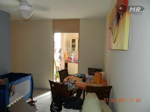 apartamento à venda, vila padre manoel de nóbrega, campinas. - ap0750