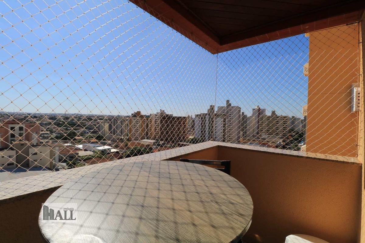 apartamento à venda vila redentora, 104 m², 2 vgs, - rio preto - v6548