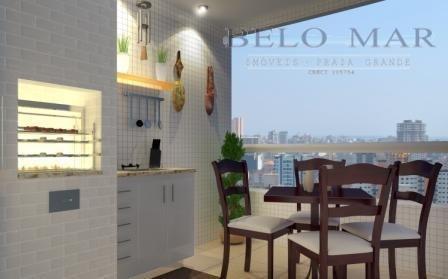 apartamento à venda, vila tupi, praia grande. - codigo: ap0192 - ap0192