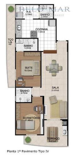 apartamento à venda, vila tupi, praia grande. - codigo: ap0199 - ap0199