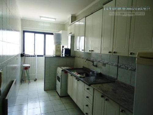 apartamento à venda, vila tupi, praia grande. - codigo: ap0585 - ap0585