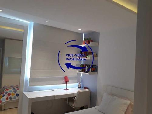 apartamento à vendaapartamento à venda no condomínio barramares - 127m², salão, varanda, 3 quartos, dependências, 2 vagas, ótima infraestrutura! - 1294
