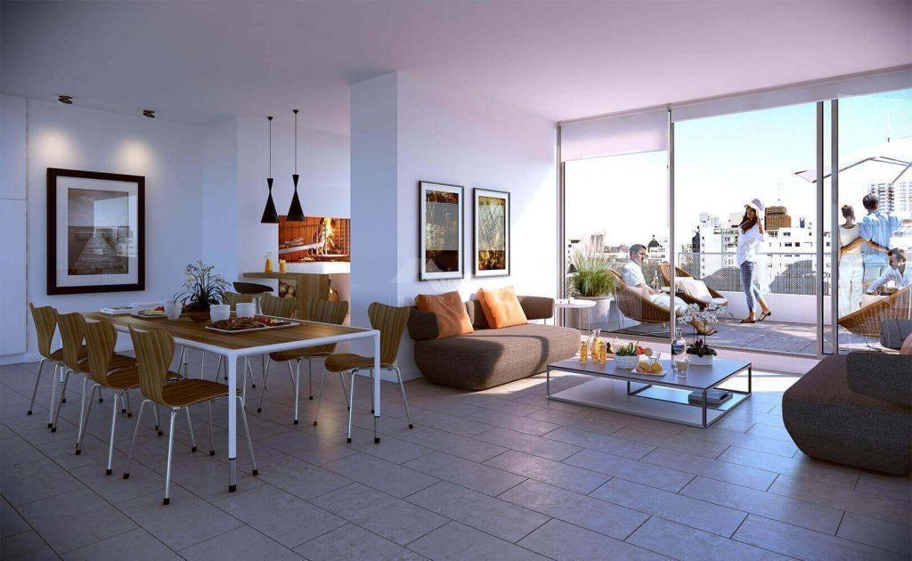 apartamento venta cordon venta 2 dormitorios con garaje!! roxlo y constituyente ed. domini roxlo