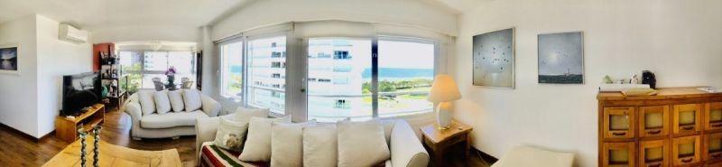 apartamento venta punta del este mansa 3 dorm vista al mar