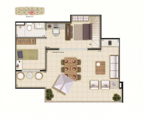 apartamento  via alto mapendi - 2 quartos - taquara - 131