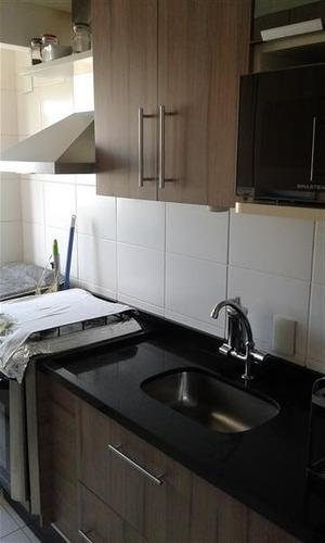 apartamento vila alpina 2 dormitórios 1 banheiros 1 vagas 44 m2 - 1898