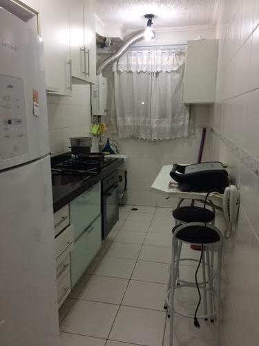 apartamento vila alpina 2 dormitórios 1 banheiros 1 vagas 45 m2 - 2045